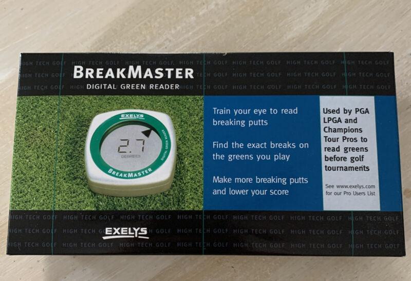 Exelys Digital Green Reader BreakMaster LCD Display