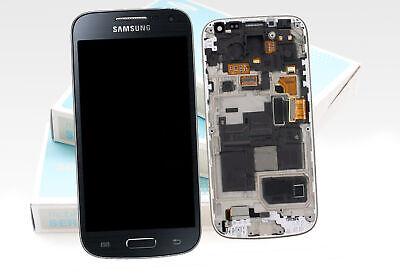 Original SAMSUNG Galaxy S4 mini Negro i9195 Pantalla LCD Cristal Delantero