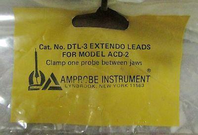 Amprobe Dtl-3 Model Acd-2 Meter Test Leads Dtl 3