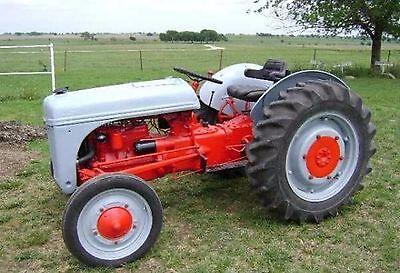 Ford 2N - 8N & 9N Tractor Workshop & Parts Manual