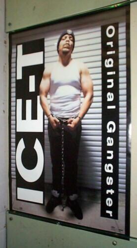 ICE T Original Gangster Vintage 1992 Poster