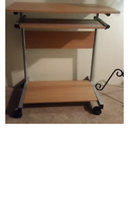 Computer Desk with Pull out drawer for keyboard Cremorne North Sydney Area Preview
