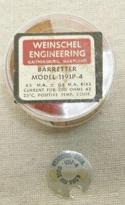 Weinschel Barretter Model 1191p-4 4.5 M.a.