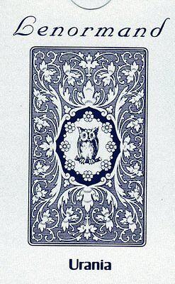 Eule Karten (LENORMAND BLAUE EULE - KARTENSET URANIA - NEU)
