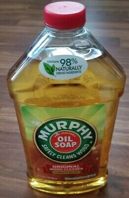 Murphy Oil Soap Original Liquid Wood Cleaner 32 Oz Heavy Duty Works Great (Murphys Liquid Wood)