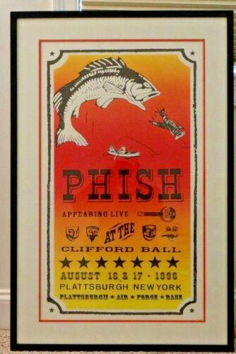 1996 - Phish  Clifford Ball original official print not Pollock