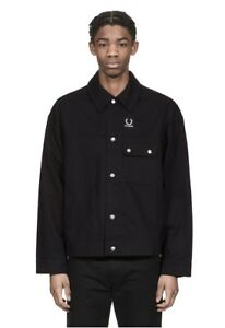 Raf Simmons x Fred Perry Oversized Jacket