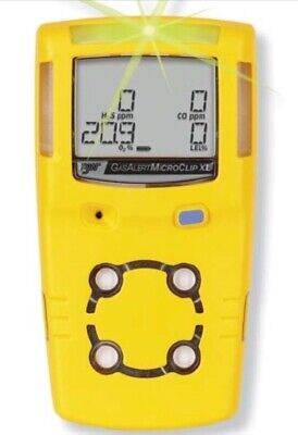 Bw Technologies Bw Microclip Xl 4-gas Gas Detector Four Gas Monitor Calibrated