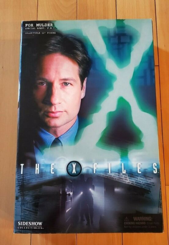 """Sideshow Collectibles X-Files Fox Mulder 12"""" Collectible USED"""