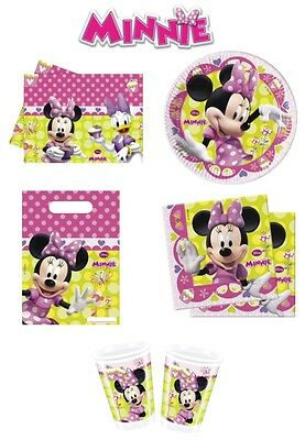 Minnie Mouse Party Items (Minnie Mouse Bow-tique Birthday Party Decoration Items,  Tableware)