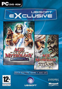 AGE OF MYTHOLOGY GOLD EDITION - PC DVD - BRAND NEW AND FACTORY SEALED