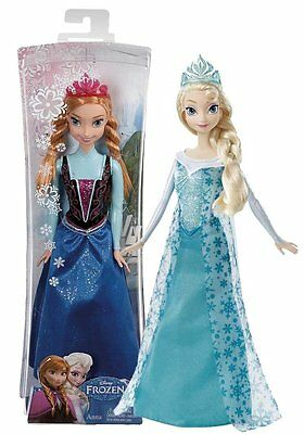 MATTEL DIE EISKÖNIGIN ANNA PUPPE DISNEY PRINCESS  NEUWARE (Monster High Princess)