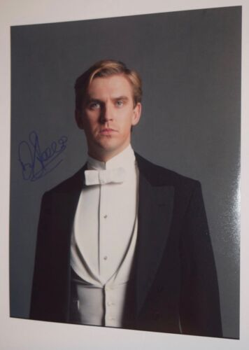 Dan Stevens Signed Autograph 11x14 Photo Beauty & The Beast Downton Abbey COA VD