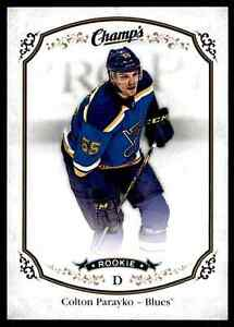 2015-16-Upper-Deck-Champ-039-s-Colton-Parayko-Rookie-173