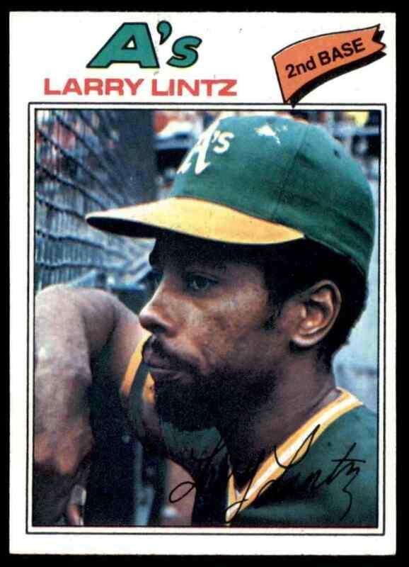 1977 TOPPS LARRY LINTZ #323 NM-MT+ WELL CENTERED HI-GRADE SET BREAK BLR16W1