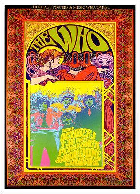 The Who Poster Pengrowth Saddledome Calgary 2006 Original Signed Litho Bob Masse