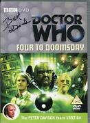 Doctor Who Signed DVD