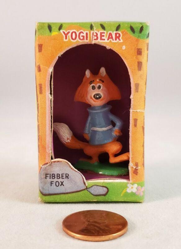 Marx Tinykins Hanna-Barbera Miniatures Fibber Fox (Hand Painted - 1961)