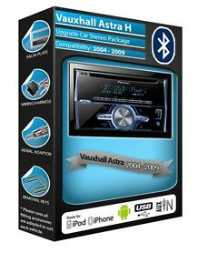Vauxhall-Astra-H-CD-MP3-player-Pioneer-FH-X700BT-Bluetooth-Handsfree-car-stereo