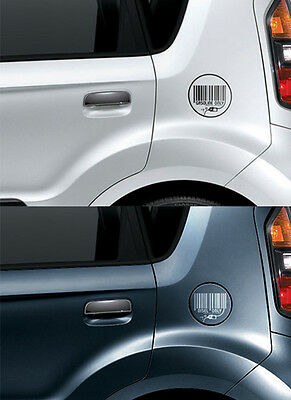 fuel Decal DISEL Stickers Silver For 11 Kia Optima K5