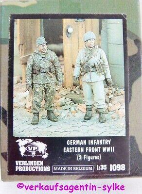 933: Verlinden Productions Modellbau-Figur : Allemand Infanterie Eastern avant1