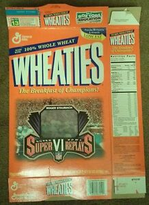 Lot of 7 Wheaties boxes - Olympics; NFL; Superbowl; MLB All-Stars