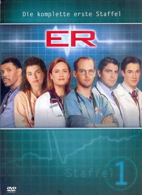 DVD + ER + Emergency Room + Ärzte + Notaufnahme + TV-Serie + Komplette 1.Staffel ()