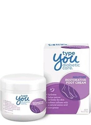 Diabetic Care,Callus Remover,Dry Feet Treatment,Nighttime Restorative Foot Cream