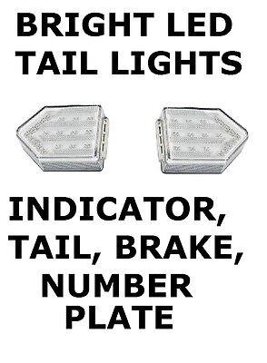 2 x LED DIRECTIONAL  ARROW 4 Function Rear Lamp trailer board & trailer light  Arrow Board Trailer