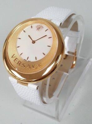 Versace VAQ020016 Perpetuelle Women's MOP Dial Swiss Quartz Watch NEW+SHIPS FREE