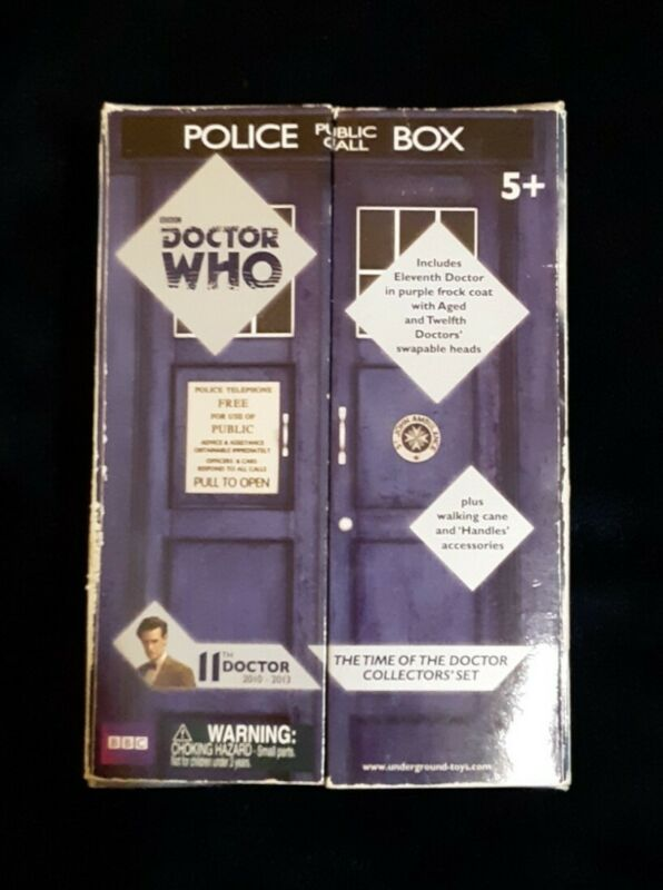 Doctor Who Underground Toys 11th Doctor The Time of the Doctor Collector