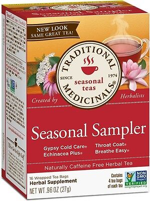 TRADITIONAL MEDICINAL'S Cold Season Smp Herb Tea 16 BAG
