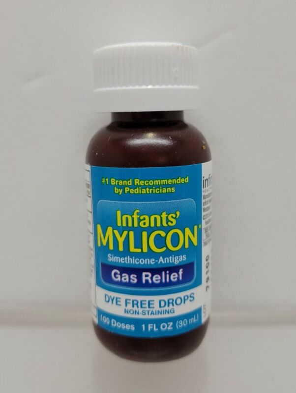 1- NEW Mylicon Infants Gas Relief Dye Free Drops, 1 oz Exp 11/22
