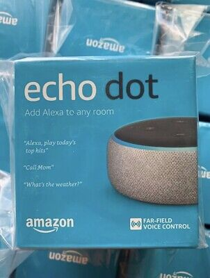 Echo Dot (3rd Gen) - Smart speaker with Alexa - Gray - Free Shipping