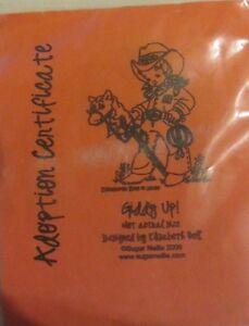 Sugar Nellie/Elisabeth Bell Giddy Up Rubber Stamp