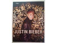 Justin Bieber Mead Note Book Folder 2 Pocket JB RARE VHTF VTG 2012