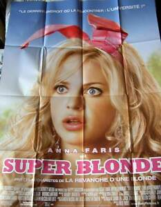 Super Blonde The House Bunny Anna Faris Affiche 120x160 ...