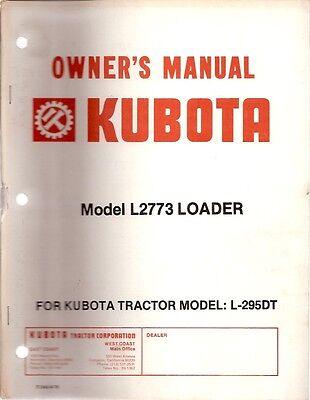 Kubota Model M1300 Front Loader Owners Parts Manual
