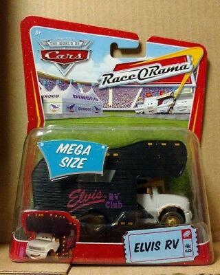 Disney Pixar Cars Elvis RV Race O Rama Mega Size #9 NEW