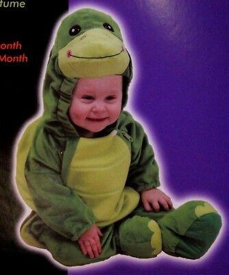Baby Boy Turtle Halloween Costume (NEW BOYS GIRLS INFANT BABY 0 3 6 MOS TURTLE HALLOWEEN COSTUME ROMPER)