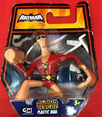 DC Batman Brave and the Bold Action League Mini Figure Plastic Man New (Plastic Man Batman Brave And The Bold)