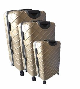 3 Pcs Luggage Set colors