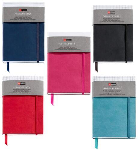 Miquelrius Pocket Plain Flexible Notebooks 3.5x4 - Set of 5