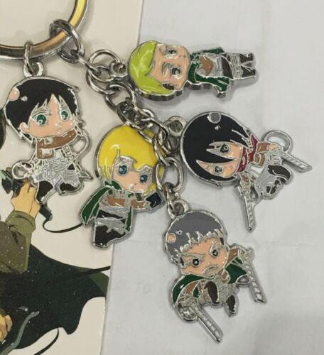Anime Attack On Titan Keychain USA SELLER!!! FAST SHIPPING!