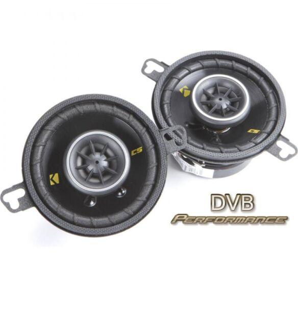 "KICKER 40CS354 3.5"" 8.7cm 2 Way Coaxial Car Speakers 1 pair 90w"