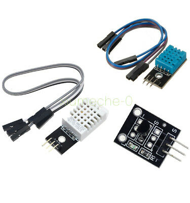 1pcs Dht22am2302 Dht11 Ds18b20 Digital Temperature And Humidity Sensor Module
