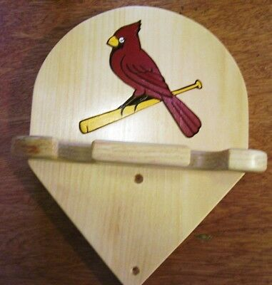 Bats St. Louis Cardinals bat rack to display bats Natural finish Wall Hanging