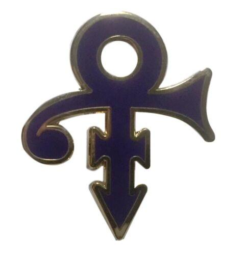 "Prince Rock Star Purple Symbol Enamel Metal Logo 1"" Pin"