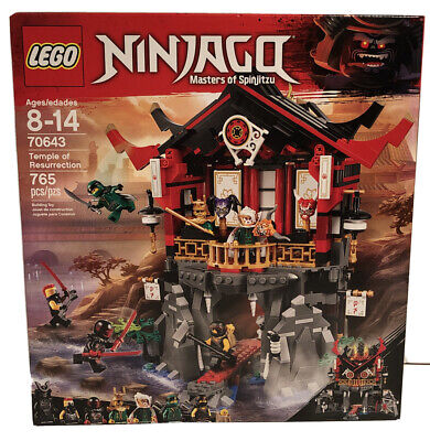 LEGO 70643 Ninjago Temple Of Resurrection Retired Brand New Quick Ship
