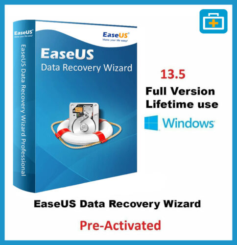 EaseUS-Data-Recovey 13.5 - 100% Full Version ✅ FAST DELIVERY